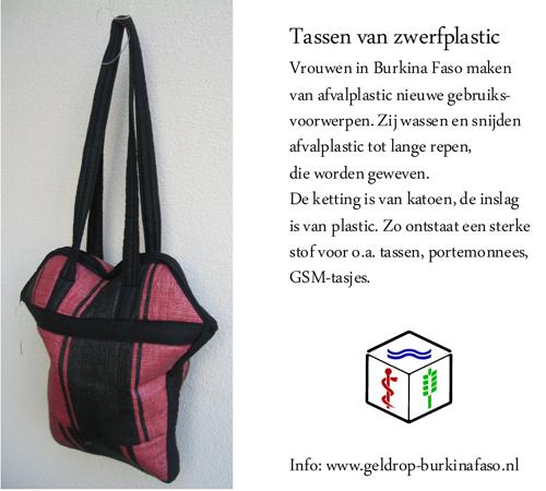 tas van zwerfplastic