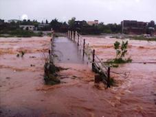 overstromingen in Ouaga
