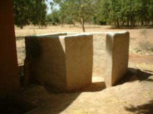 Latrine in Zimtanga