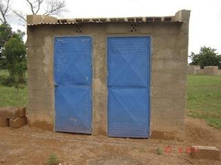 VIP toiletten in Yoyondogo